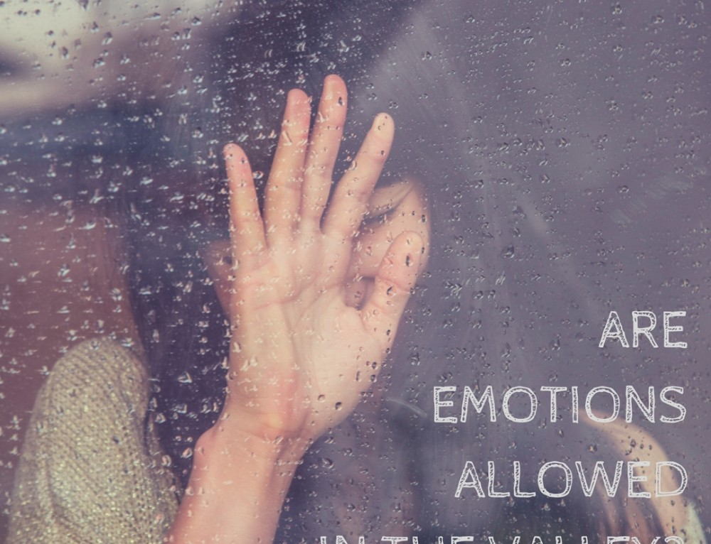 Are Emotions Allowed in the Valley?