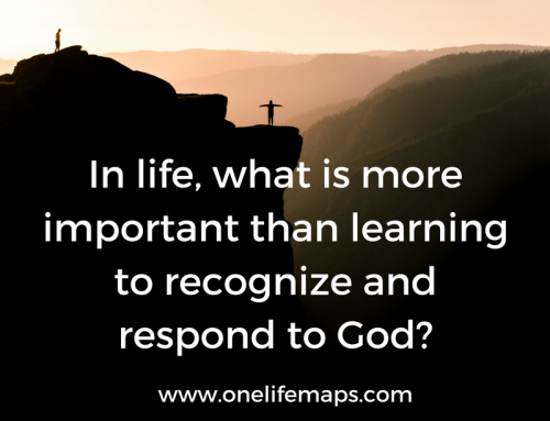 Recognizing and Responding to God